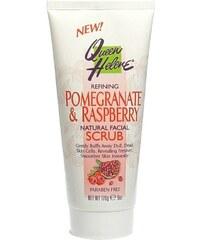 QUEEN HELENE Péče Pomegranate And Raspberry Scrub - pleťový peeling s antioxidanty 170g
