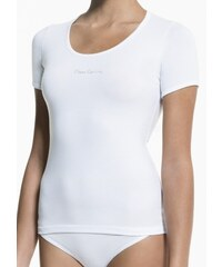 Dámské tričko Pierre Cardin Mais XL Bílá, bílá
