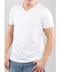 Pánské tričko Emporio Armani 110856 CC712 bílá XL Bílá, bílá