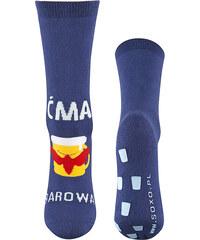 Ponožky Soxo 5694 - výprodej , modrá - tmavě