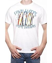 Pánské tričko Moraj OTS 1200-009 white, bílá
