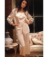 Pyžamo dámské Miran 802, béžová