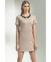 Šaty Nife S53, béžová