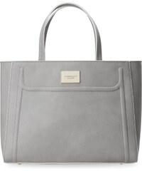 Dámská kabelka monnari klasický handbag s páskem šedý 799dec71bc7