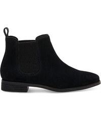 ca8b076c7177 Dámske čierne členkové topánky TOMS Ella