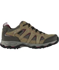 Karrimor Mount Low Ladies Walking Shoes Brown Berry be48bd9adb