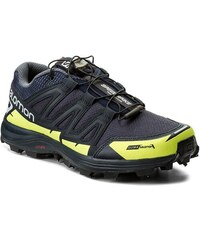 Cipő SALOMON - Speedspike Cs 394475 27 W0 Navy Blazer Reflective Silver Lime  Punch 8a02371544