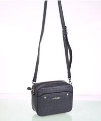 KBAS Dámska kabelka cez rameno eko koža šedá 5b004c2a9ba