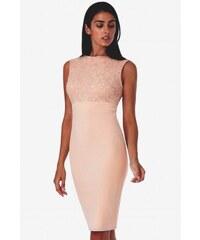 9cf45afa8f0 Dámské šaty bez rukávu Olivia tělové CityGoddess DR1245