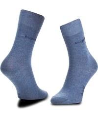 Sada 3 párů pánských vysokých ponožek BUGATTI - 6703 Light Denim 434 0eeff4407a