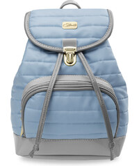 World-Style.cz Prostorný prošívaný dámský batůžek batoh modrá f0525901b5