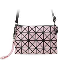 World-Style.cz Trojrozměrná dámská kabelka listonoška psaníčko růžová a83c31b96db