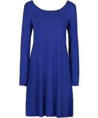 LM moda Plážové zavinovací šaty jednobarevné modré - Glami.cz ab6def9bfb