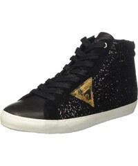 8ab258619d4b9 Guess Holly, Sneakers Hautes Femme, Noir (Nero), 36 EU