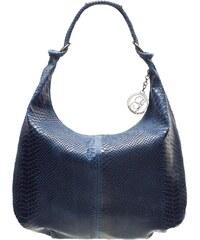 Dámská cestovní taška tmavě modrá květinová - Travel plus 7501 modrá ... 7b761ddf5d