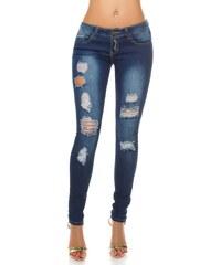 05336ab1dac Dámské potrhané džíny