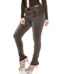 Koucla Trendy dámské džíny s páskem ad39a7e0cc
