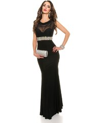 Černobílá plesové dlouhé šaty - Glami.cz 329dc09b8f