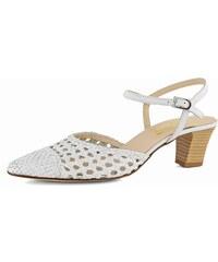 Bílé dámské boty na podpatku z obchodu Jadi.cz - Glami.cz f506be1760