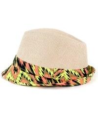 1c3ae22f8dd Art of Polo Letní klobouk dvoubarevný - béžovorůžový cz15160.12 ...