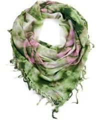 5a2e2c844a8 Art of Polo Hippie šátek zelený