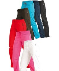 LITEX Kalhoty dámské dlouhé bokové. 99570401 béžová S - Glami.cz f7212e24c1