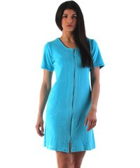 0e12dab5dcbb VESTIS Plážové wellness šaty VESTIS Bari 51646330 s krátkým rukávem  tyrkysové