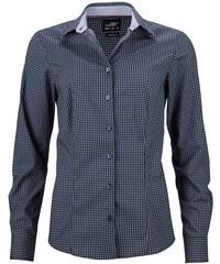 James   Nicholson Dámská luxusní košile Dots JN673 53d97f741b