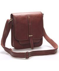 585f42fee4 Pánská kožená taška přes rameno hnědá - Gerard Henon Brandon hnědá