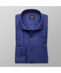fa0ea7e3e854 Willsoor Pánska slim fit košeľa London (výška 176-182) 8309 v modré farbe