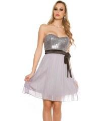 In-Style Dámske flitrované koktejlové šaty 5c022778ec9