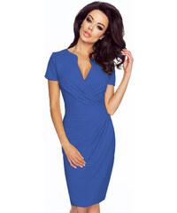 KARTES Dámské šaty Koperka modré 04a234a6ff