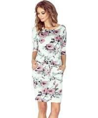 1f87adf646f Numoco Sportovní šaty s potiskem květin