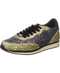 89f99683e67cc Guess Sunny, Sneakers Basses Femme, Multicolore (Pewgo), 35 EU