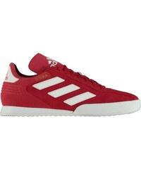 Červené pánské kotníkové boty se semišovým detailem adidas Originals ... e0534317c7