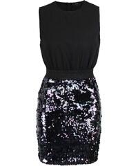716cb0e80abc Čierne puzdrové šaty s flitrovanou sukňou AX Paris