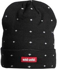 Ecko Unltd. Rheanie Beanie - černá čepice 3b5211cc81