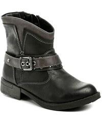 Reflexan 10450-02 černá dámská kotníčková obuv bc17cc5f2a