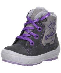 Superfit 1-00312-06 Dívčí zimné topánky GROOVY šedá 22 98ac010bcaa