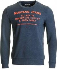 Mustang pánská mikina L modrá 1407f4d289