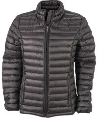 JAMES   NICHOLSON Daunenjacke Ladies Quilted Down Jacket, Blouson Femme,  Noir (Black) acdf72cde42