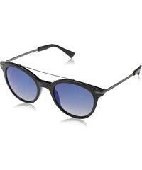 Police Herren Sonnenbrille S1955, Blau (Shiny Black), Einheitsgröße