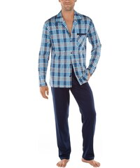 calida herren zweiteiliger schlafanzug comfy zone pyjama. Black Bedroom Furniture Sets. Home Design Ideas