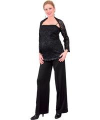 0a510a6e503 Těhotenské slavnostní kalhoty Rialto SACHY černé 0162