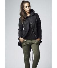 Dámska zimná bunda Urban Classics Ladies Sherpa Lined Cotton Parka black 3205d1babb6