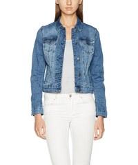 Mustang Damen Jeansjacke Iconic DNM Jacket, Blau (Super Stone 052), Medium 8b9b15055c