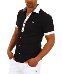 CARISMA košile pánská 9008 krátký rukáv slim fit ce3f79522f