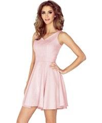 d0e95008ee6 MORIMIA šaty dámské 014-5 - pastelově růžové