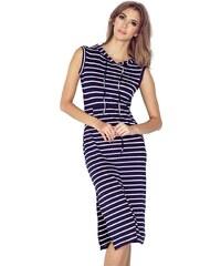 88eb0606b76 MORIMIA šaty dámské 012-1 s kapucí