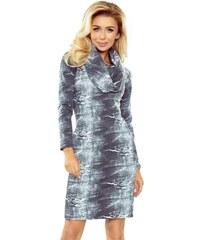 Mini šaty s dlouhým rukávem s rolákem - Glami.cz b78d5d80cf